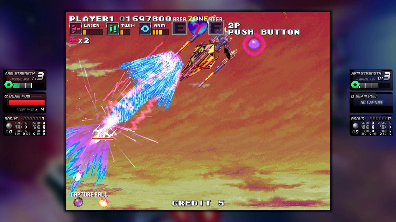 ININ Games revive el clásico G-Darius en su versión HD 8