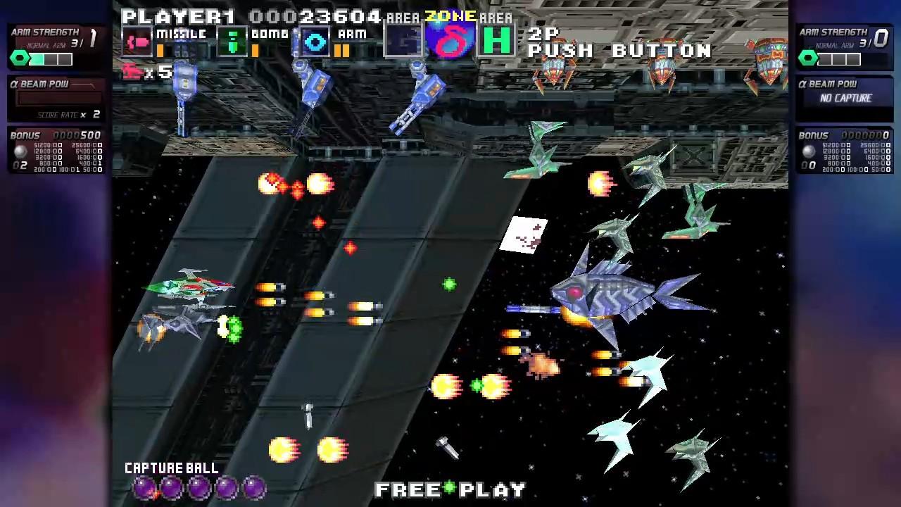 ININ Games revive el clásico G-Darius en su versión HD 1