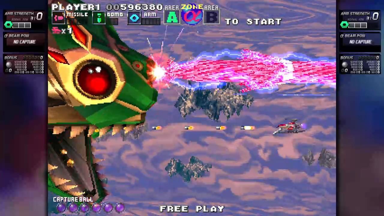 ININ Games revive el clásico G-Darius en su versión HD 2