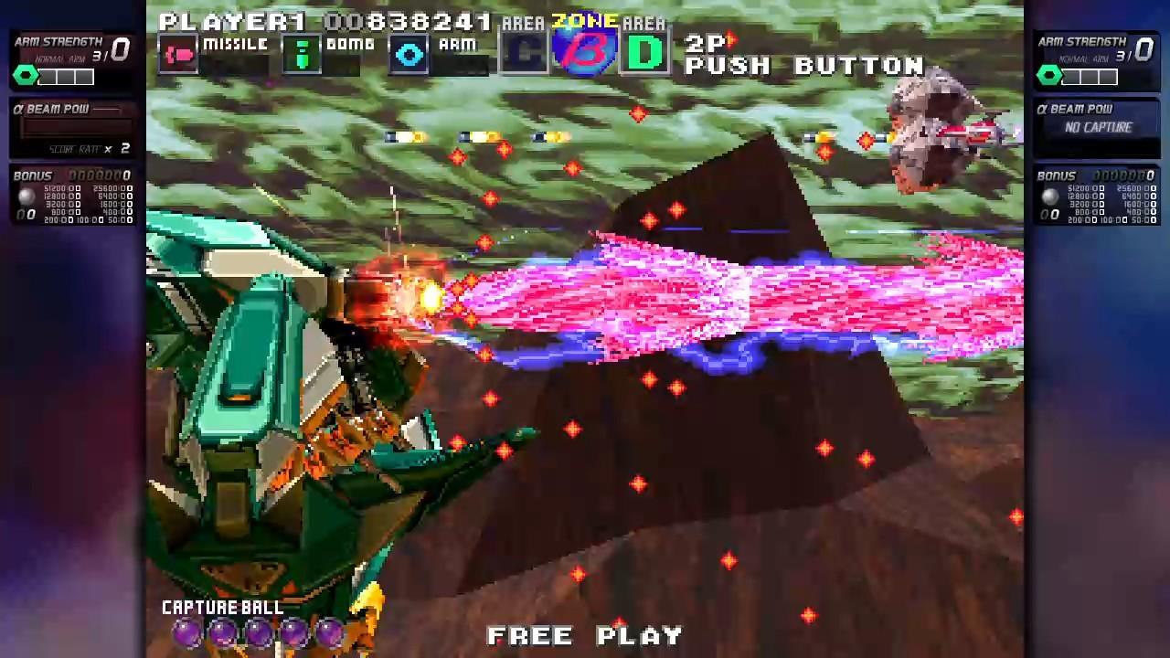 ININ Games revive el clásico G-Darius en su versión HD 7