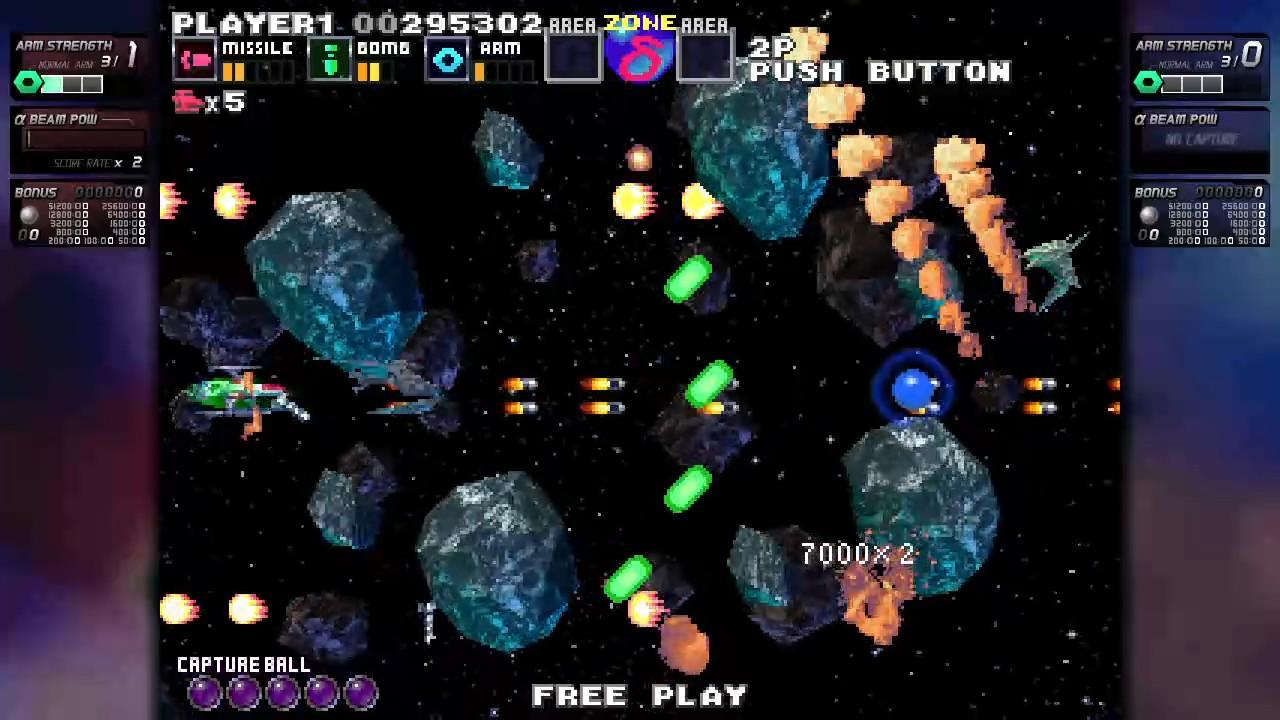ININ Games revive el clásico G-Darius en su versión HD 3