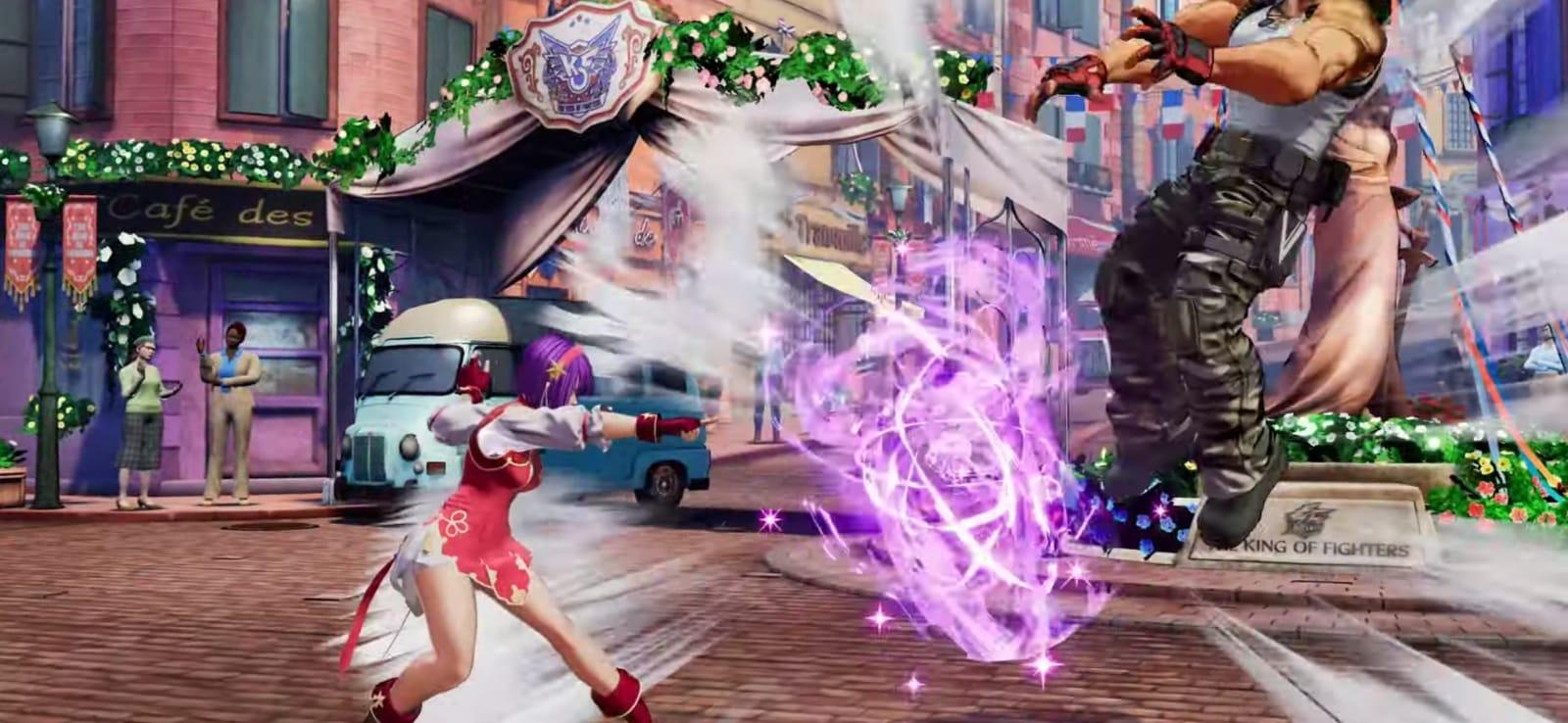 Se confirma a Athena Asamiya en The King of Fighters XV 12