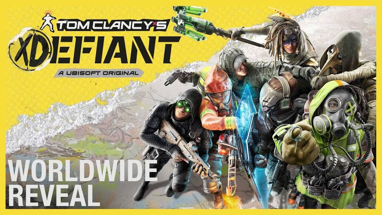 Ubisoft presenta Tom Clancy's XDefiant el nuevo juego Free-to-play 6Vs6