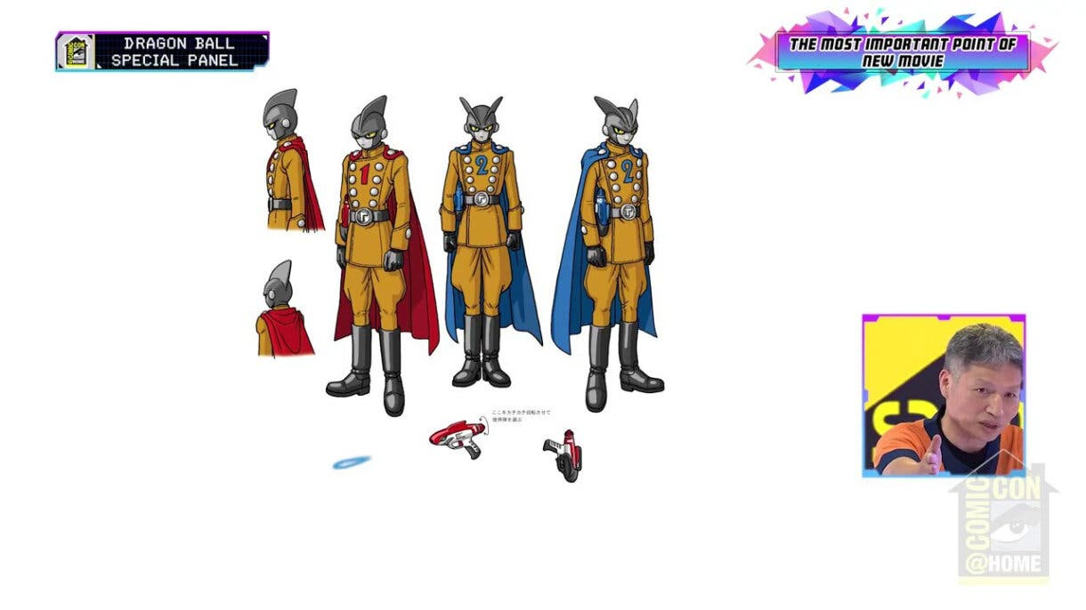 Dragon Ball Super: Super Hero presenta su primer tráiler en SDCC 2021 3