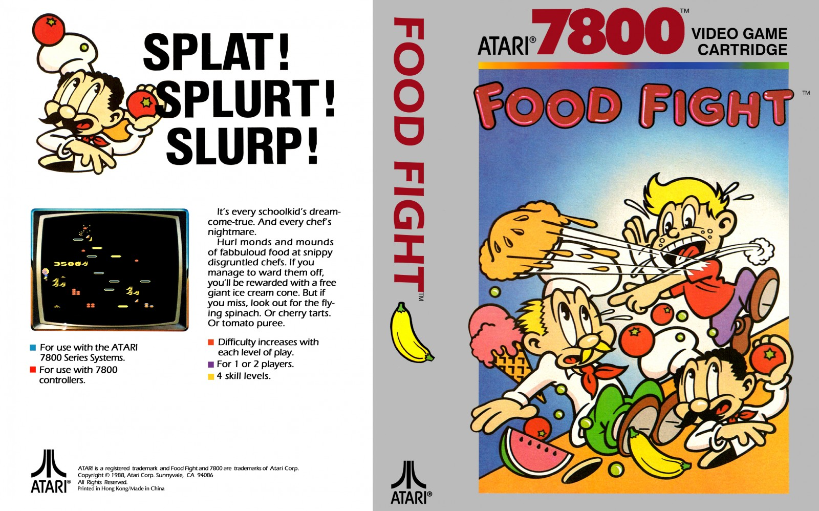 Food Fight tendrá un remake para las actuales consolas y PC en 2022 4