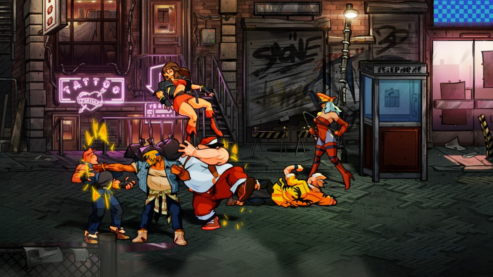 Reseña: Street of Rage 4 + Mr. X Nightmare DLC (Steam) 2