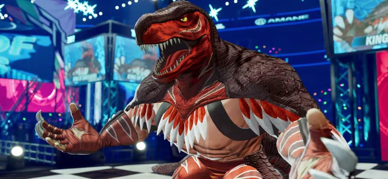 Confirmada la presencia de King of Dinosaurs en The King of Fighters XV 10