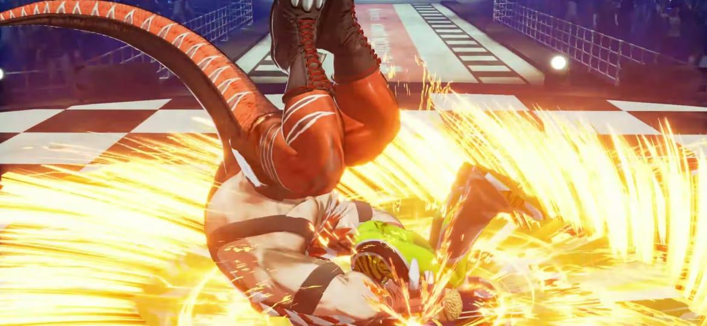 Confirmada la presencia de King of Dinosaurs en The King of Fighters XV 9