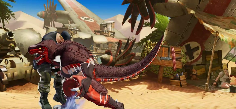 Confirmada la presencia de King of Dinosaurs en The King of Fighters XV 5