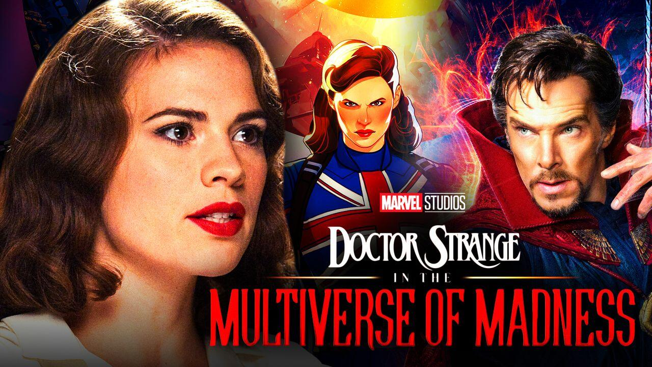 Hayley Atwell, Captain Marvel, What if, Peggy Carter