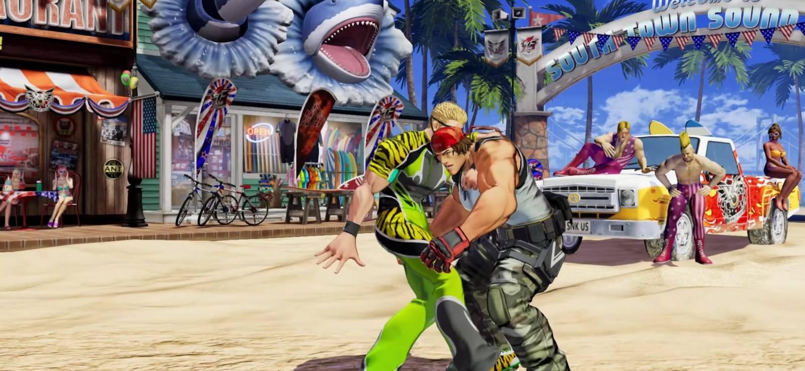 SNK confirma a Ramón como parte de la plantilla de The King of Fighters XV 2