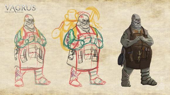 Vagrus: The Riven Realms, conoce este RPG post-apocalíptico por turnos que llegará a Steam 5