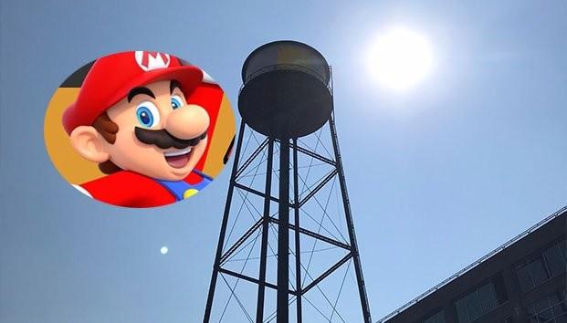 Policía de Nueva York Impide terminar un grafiti inspirado en Super Mario Bros. 1