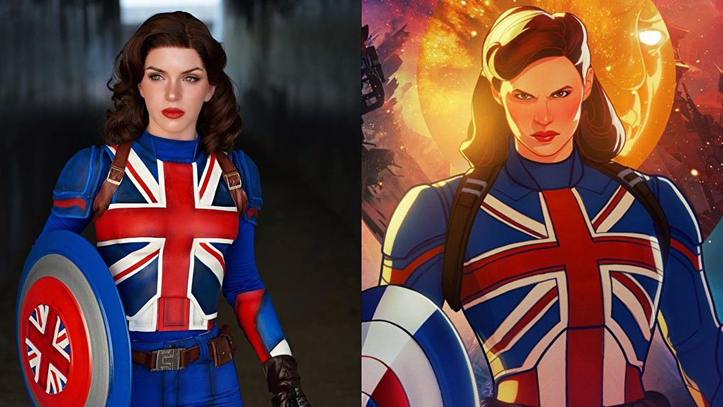 Captain Carter, Cosplay, What If, Armored Heart Cosplay