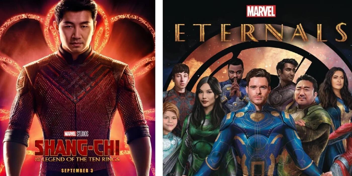 Shang-Chi, Eternals, Black Widow