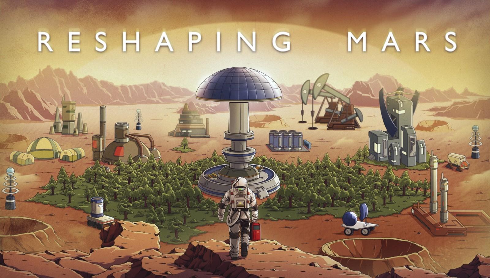 Reshaping Mars: Construye tu propia colonia en Marte en este juego desarrollado por una sola persona