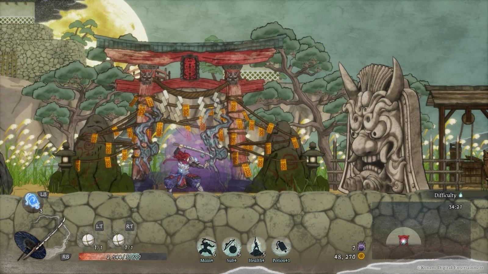 GetsuFumaDen: Undying Moon recibe actualización y presenta un nuevo nivel 2
