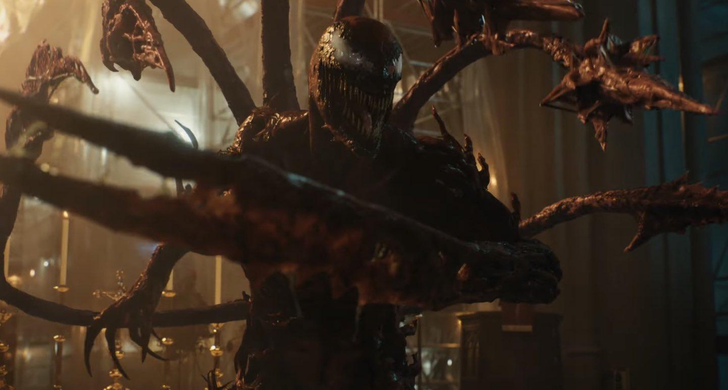 Se estrena nuevo tráiler de Venom 2 y Carnage luce espectacular 3