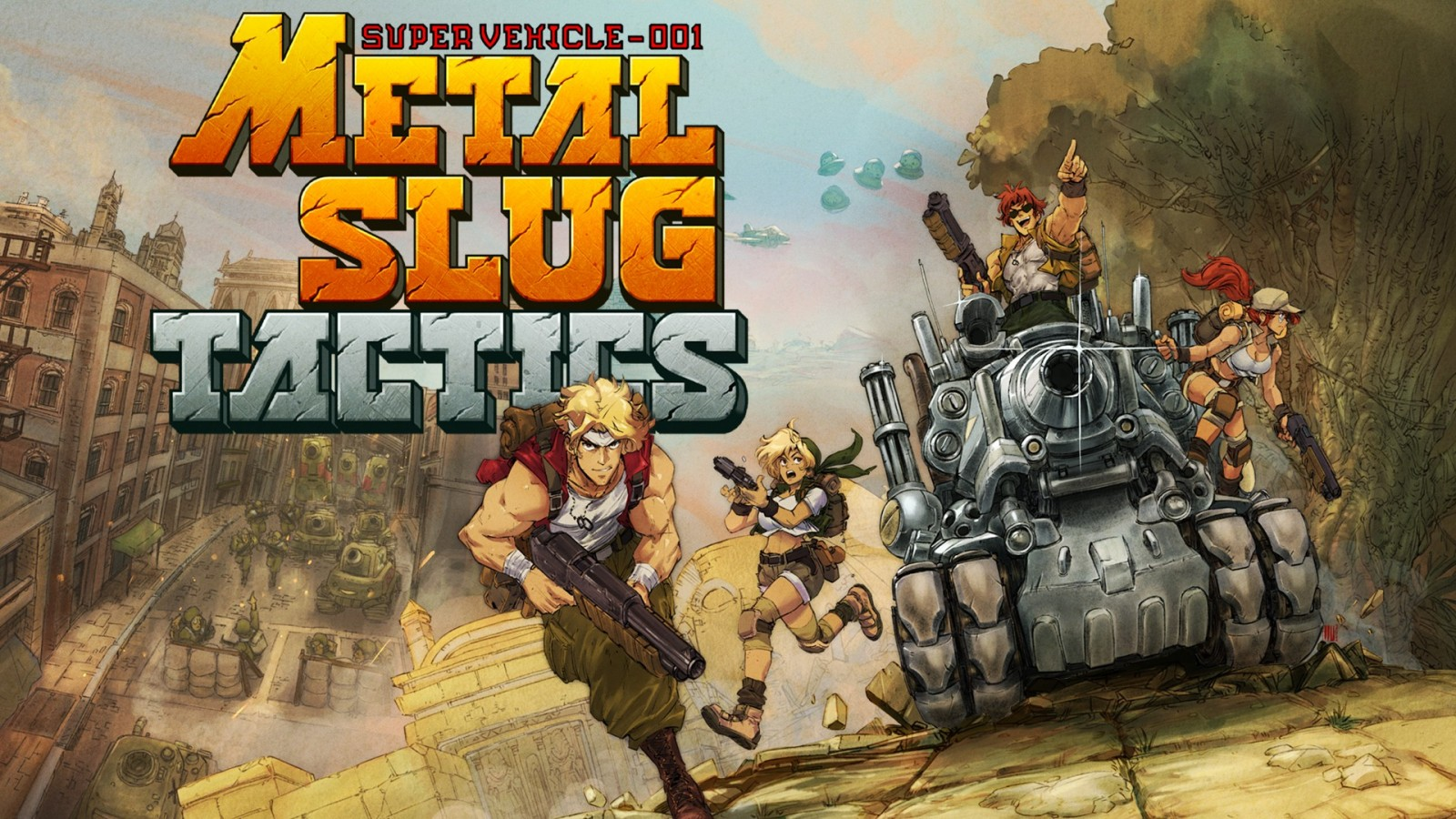 Metal Slug Tactics estará en Nintendo Switch 1