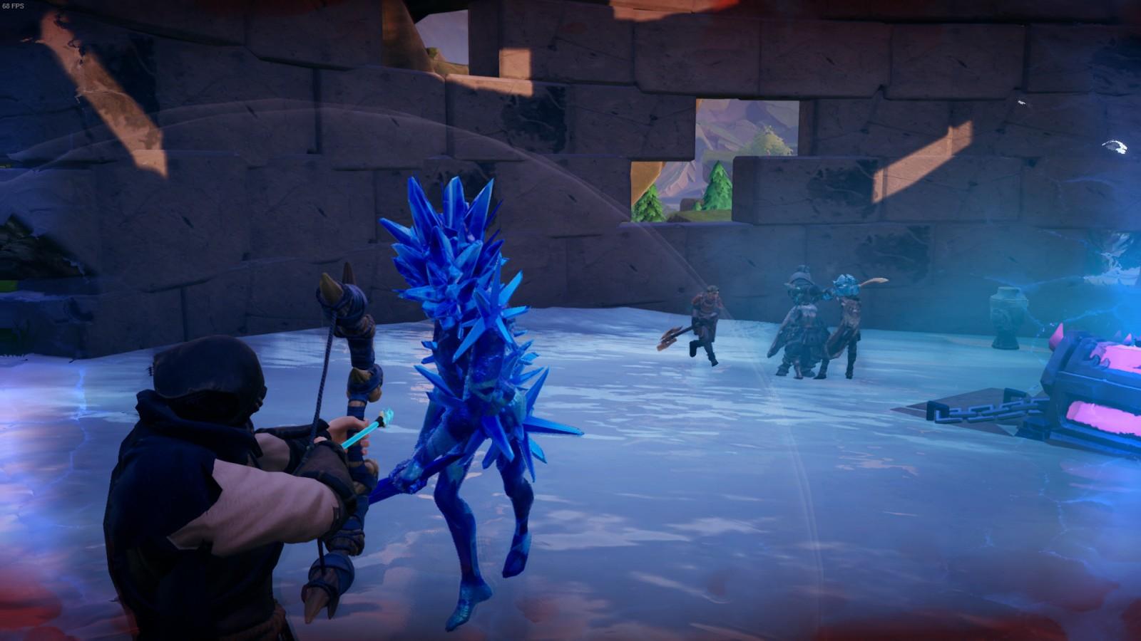 Frozen Flame devela su primera dungueon 1