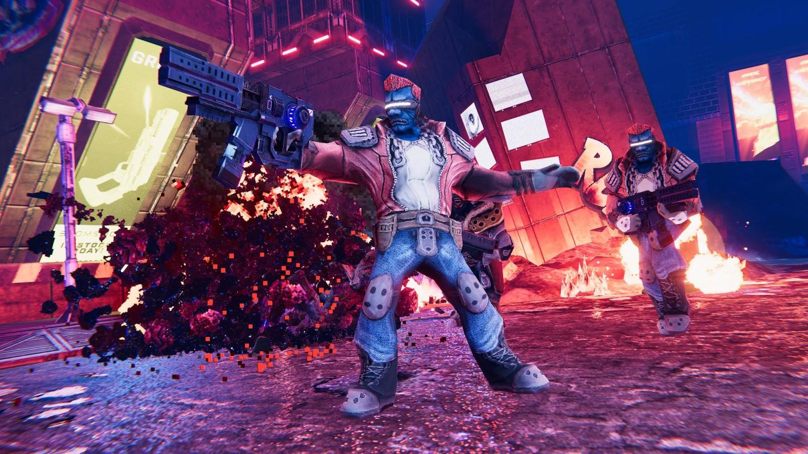 Conoce Turbo Overkill el próximo juego del creador de DOOM II Super Chaos que llegará en 2022 2