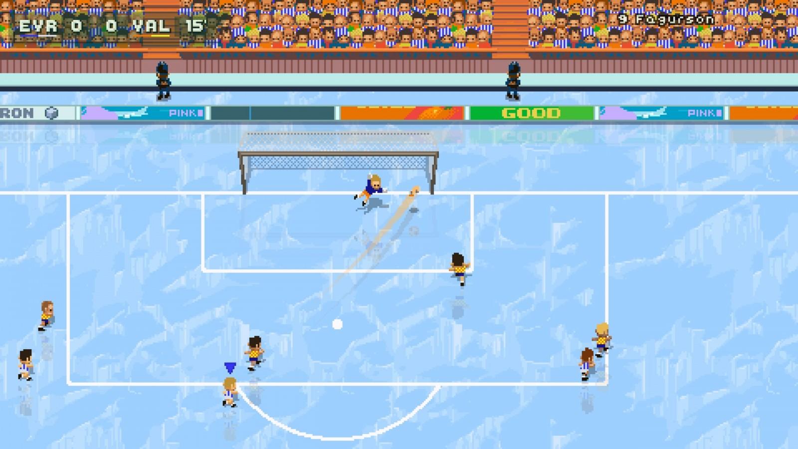 Super Arcade Football: Conoce este juego en 2D que nos recuerda a los títulos clásicos de futbol 4
