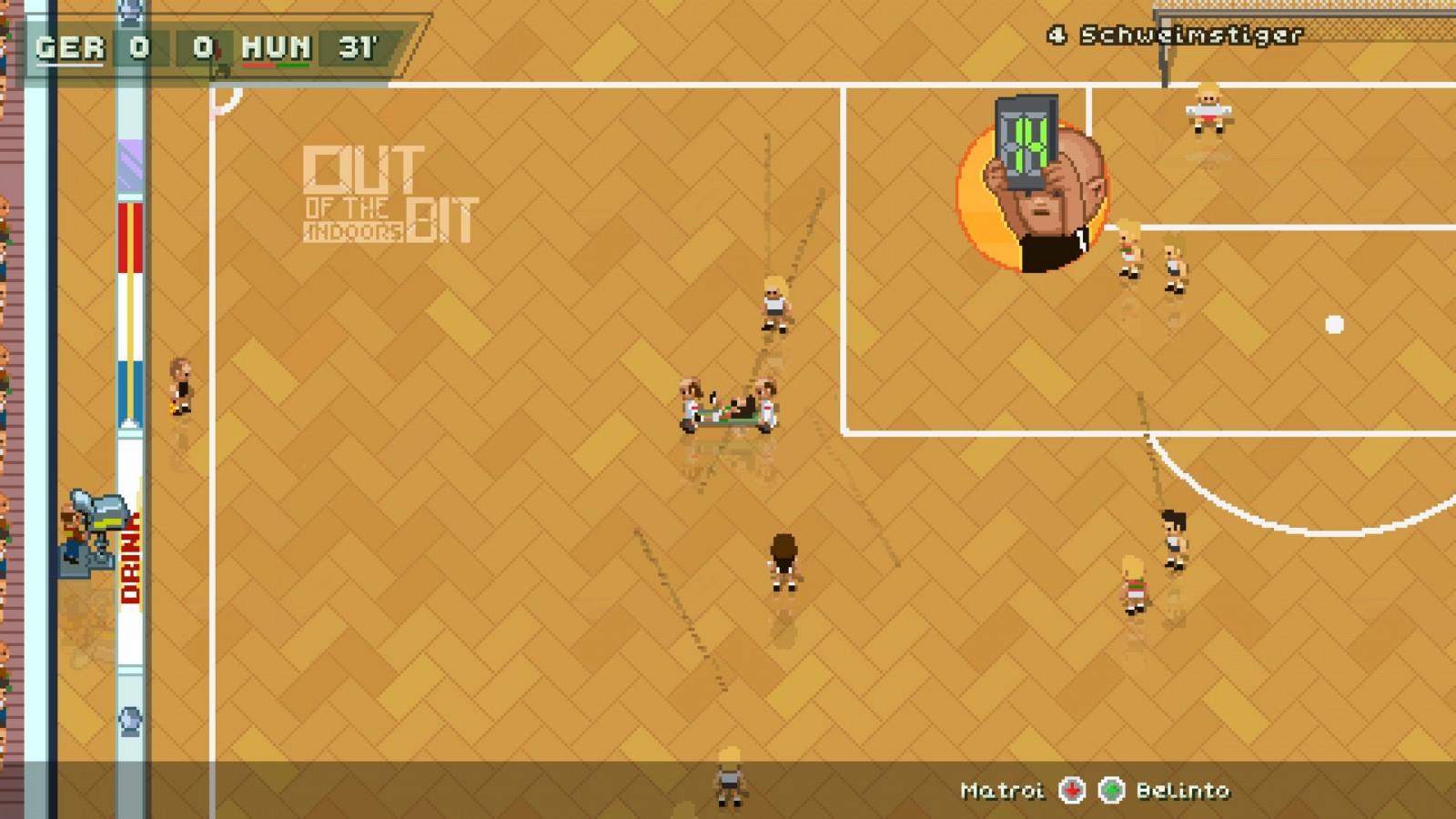 Super Arcade Football: Conoce este juego en 2D que nos recuerda a los títulos clásicos de futbol 3