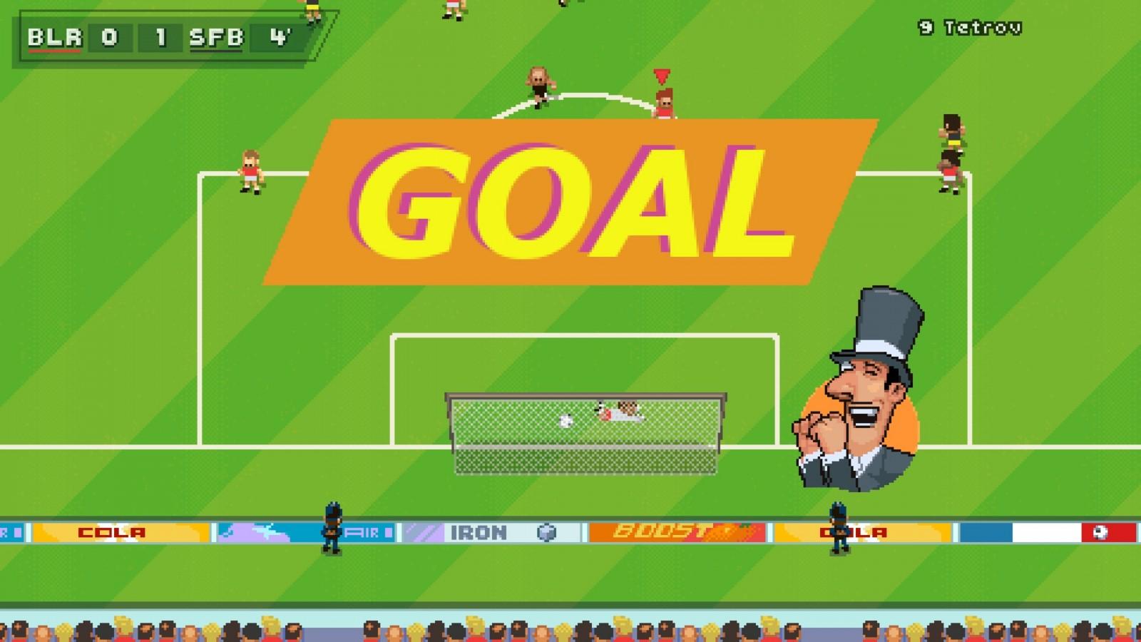 Super Arcade Football: Conoce este juego en 2D que nos recuerda a los títulos clásicos de futbol 1