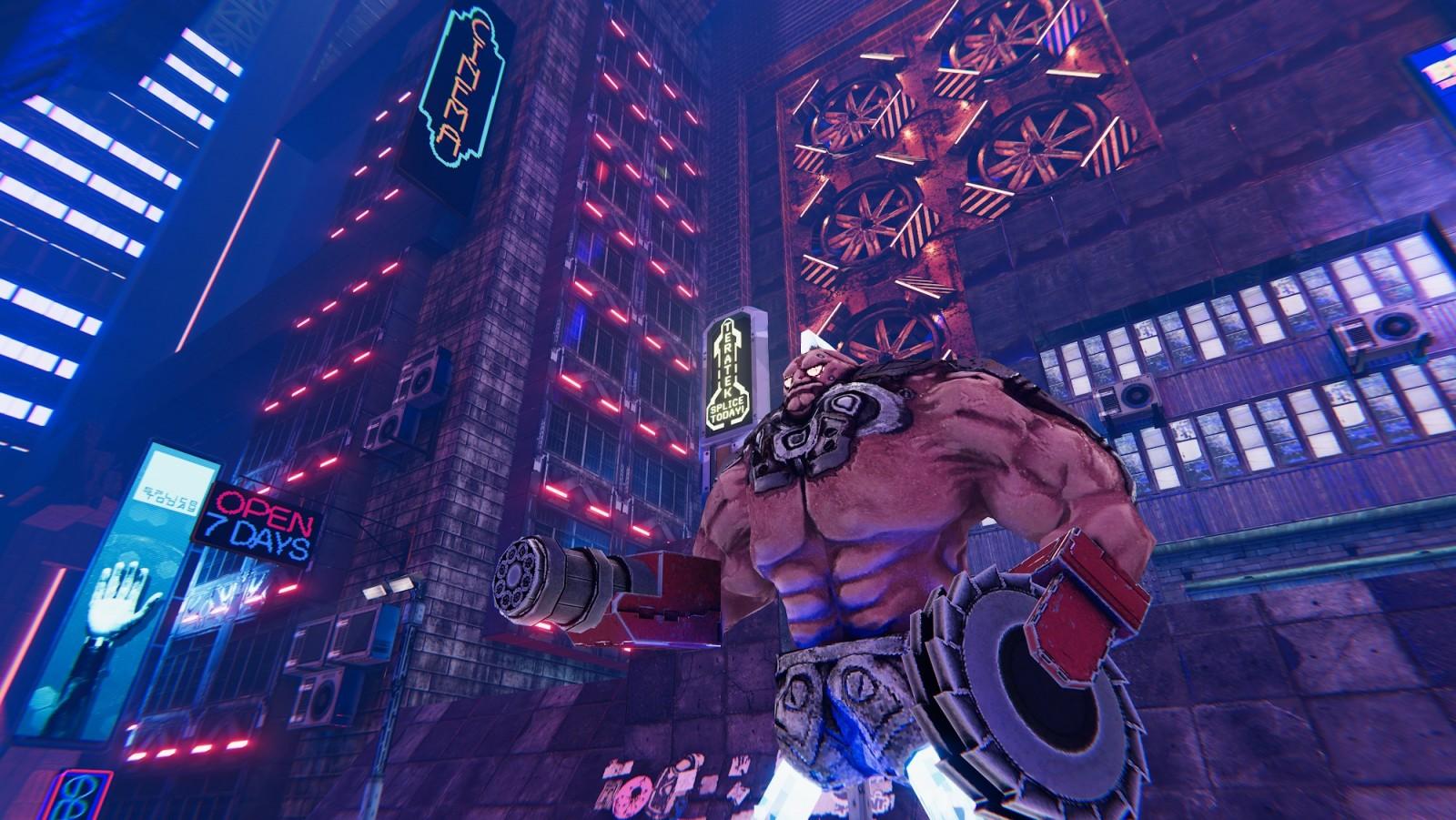 Conoce Turbo Overkill el próximo juego del creador de DOOM II Super Chaos que llegará en 2022 3