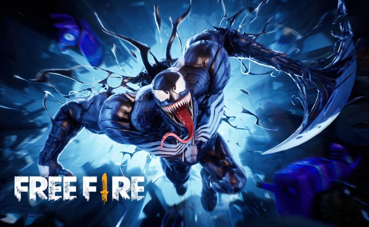 """Free fire tendrá una colaboración con la cinta de Sony Pictures """"Venom: Carnage Liberado"""""""