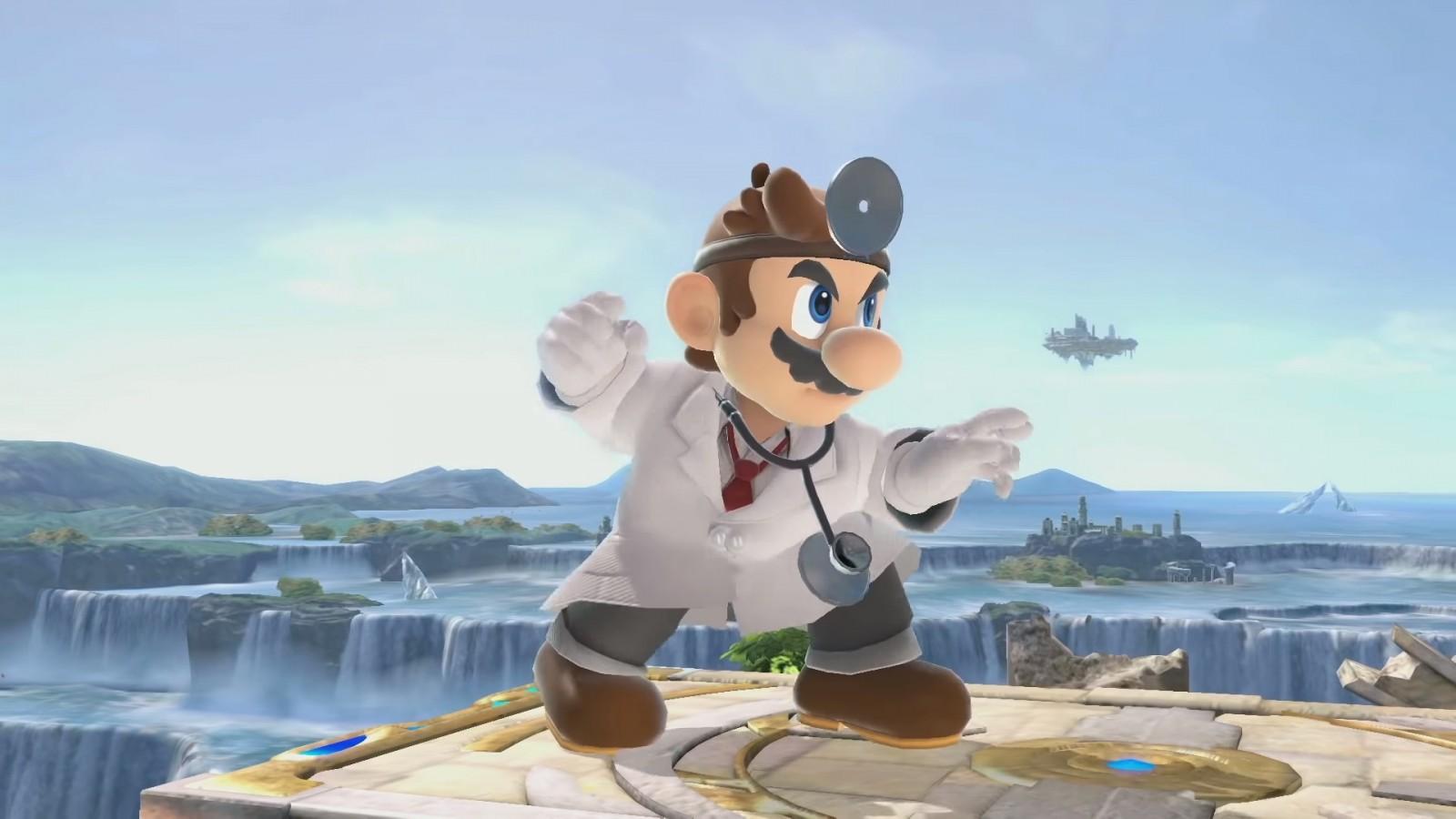 Doctor mario, Super Smash Bros Ultimate, Dentista