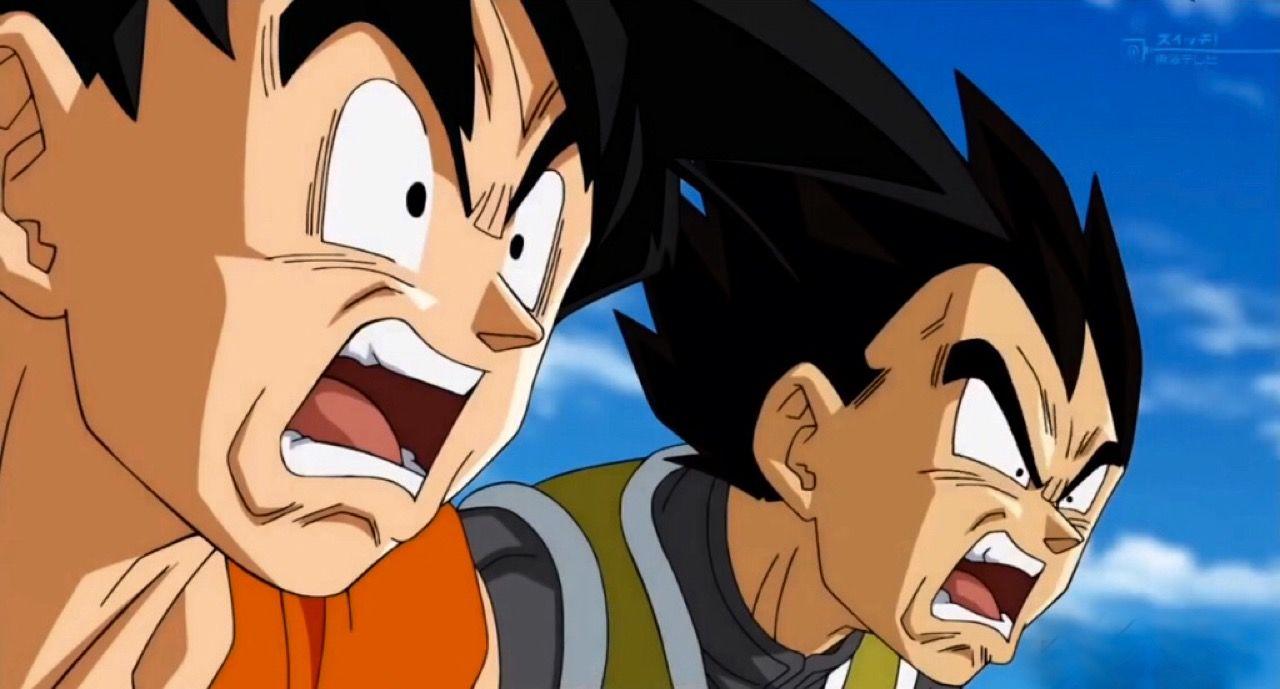 Dragon Ball, Goku, Vegeta