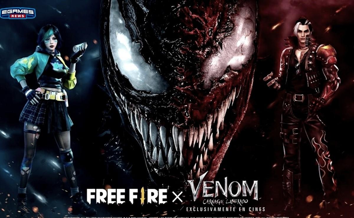 Free Fire, Venom Carnage Liberado