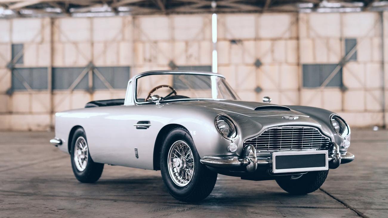 James Bond, No Time to Die, Aston Martin