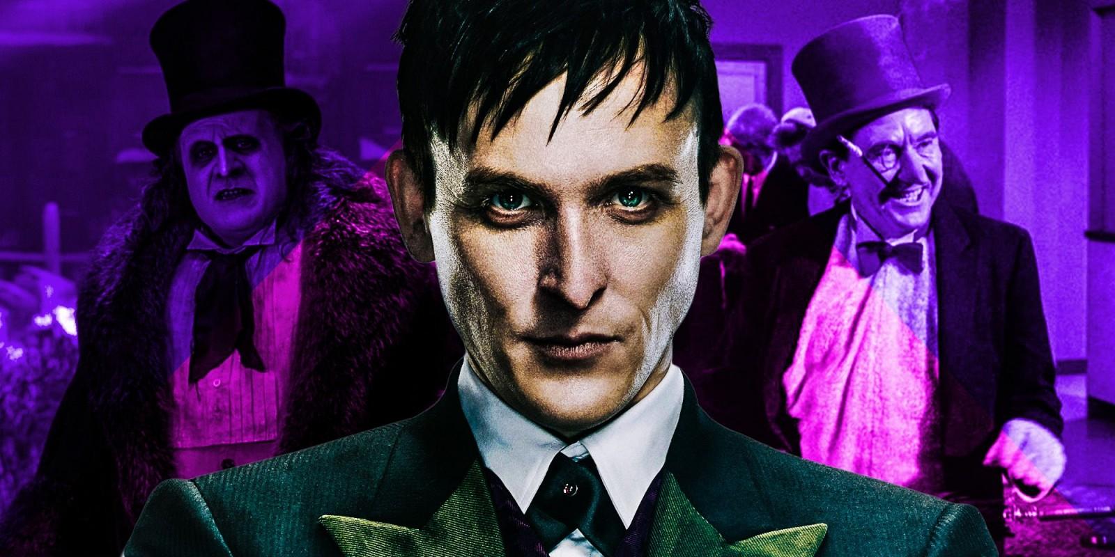 Live-action-Penguin-actors-danny-devito-burgess-meredith-Robin-lord-taylor