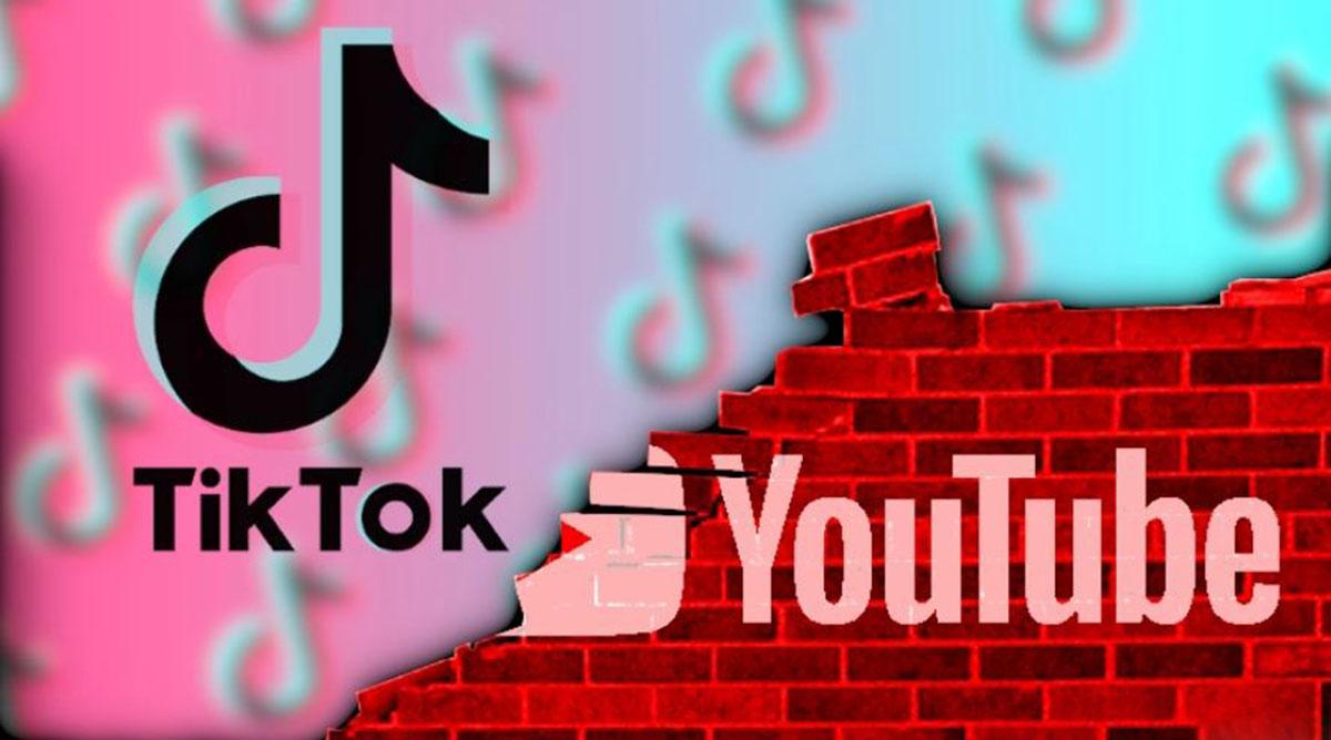 Tik tok, YouTube