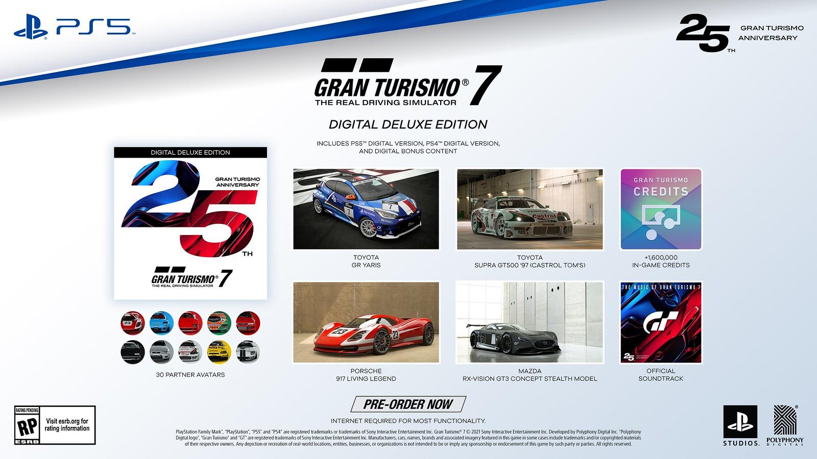 Gran Turismo 7 muestra su edición de 25 aniversario 2