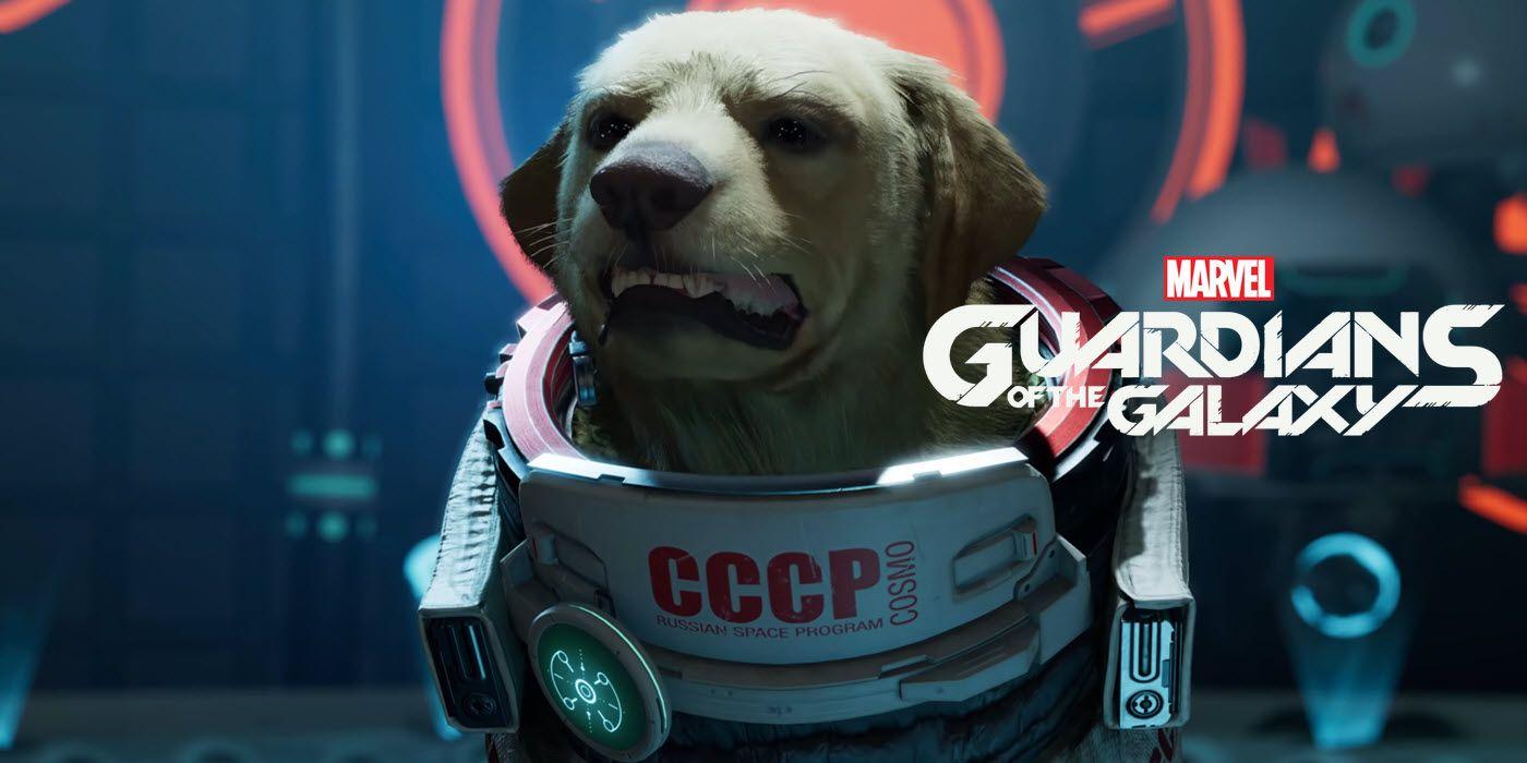 Conoce a Cosmo, el perro del espacio que protagoniza el ultimo tráiler de Marvel´s Guardians of the Galaxy