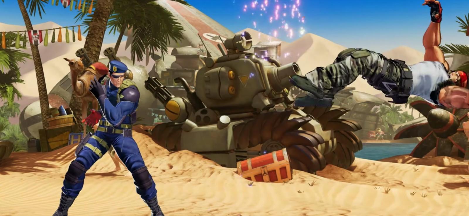 The King of Fighters XV confirma la presencia de Heidern 14