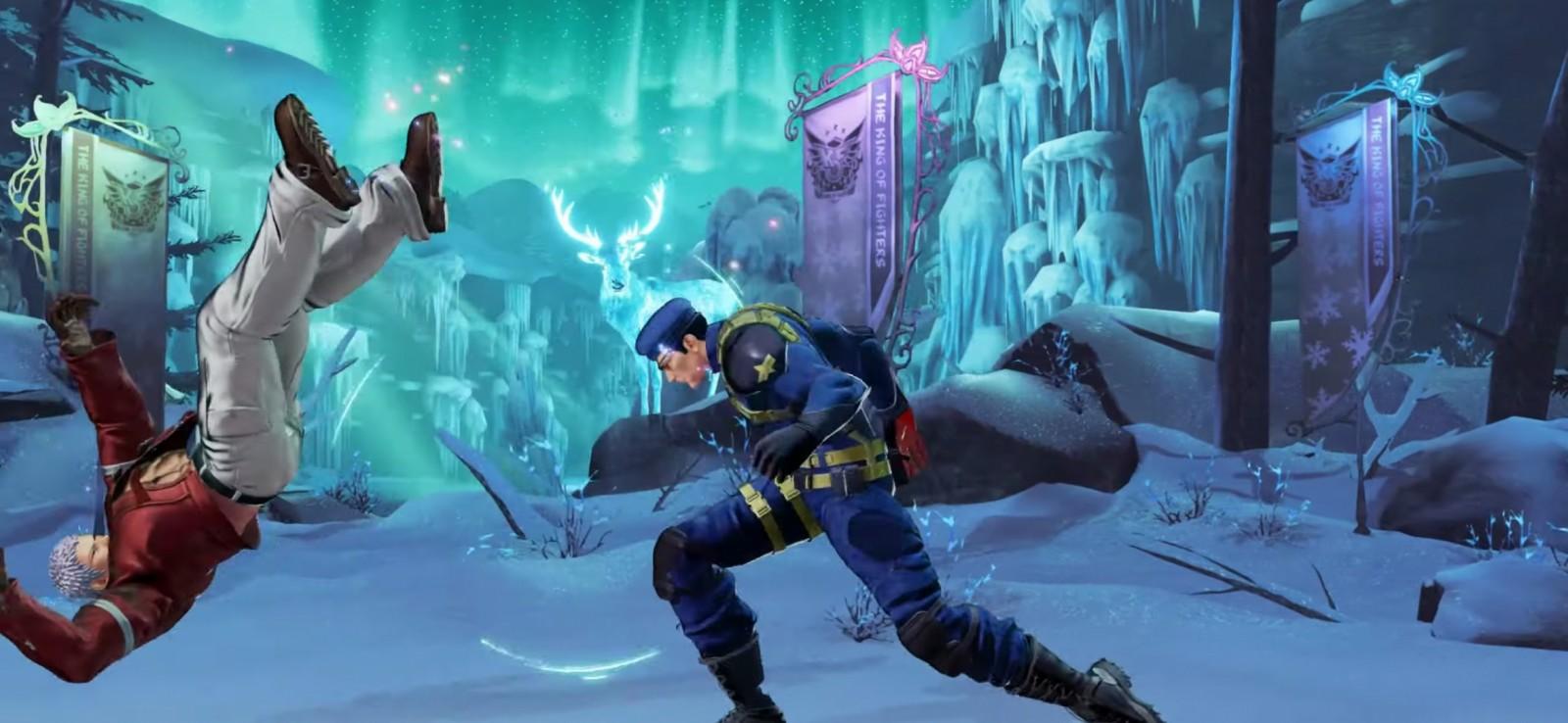 The King of Fighters XV confirma la presencia de Heidern 8
