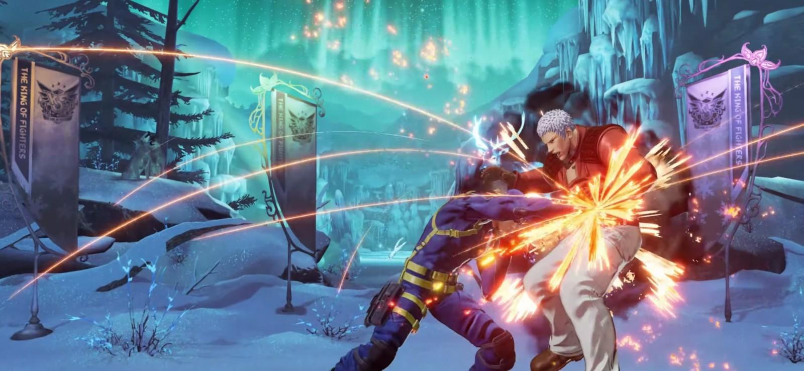 The King of Fighters XV confirma la presencia de Heidern 7