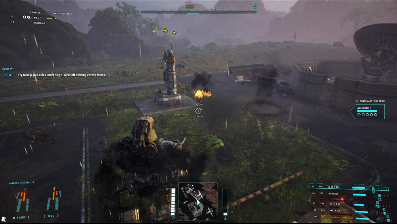 Reseña: 'MechWarrior 5: Mercenaries' (PC) 3